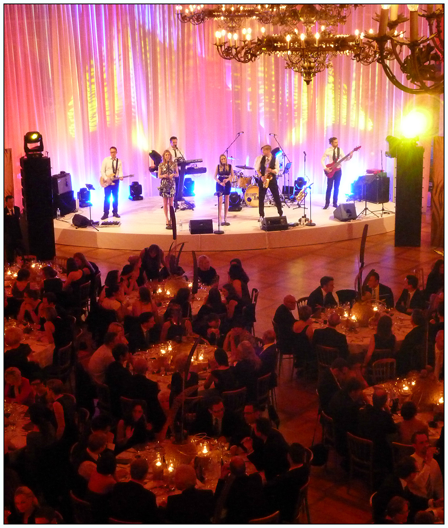 Arts Live Song Room: Die Partyband Für Ihre Gala, Dinner Oder Ihr Event